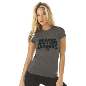 The Demon Hunters - Supernatural Inspired - Women's Poly/Cotton T-Shirt