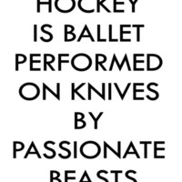 Hockey Beasts Art Print by Patti Friday