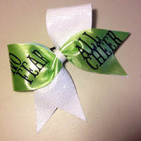No Fear, All Cheer Cheer Bow