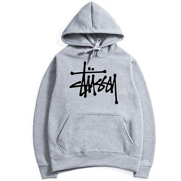 Stussy Casual Sport Running Hooded Top Sweater Sweatshirt Hoodie