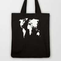 World Outline  Tote Bag by Elyse Notarianni