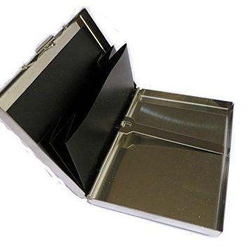 Smart Stainless Steel Rfid Blocking Wallet and Credit Card Holder for active people Preventing Identity Theaft