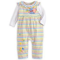 Dumbo Striped Coverall for Baby | Disney Store