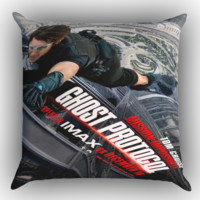 Tom Cruise X0885 Zippered Pillows  Covers 16x16, 18x18, 20x20 Inches