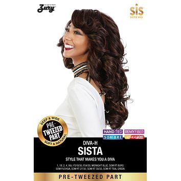 Zury Diva Sista Pre-tweezed Part Synthetic Wig