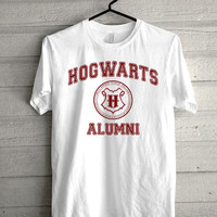 hogwarts alumni, harry potter Screen print Funny shirt for t shirt mens and t shirt girl size s, m, l, xl, xxl