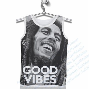 Bob Marley - Good Vibes Tank Top