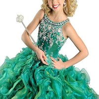 Flower Girl's Ball Gown Princess Pageant Dresses