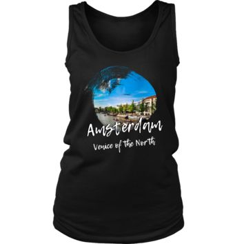 Amsterdam Venice of the North Skyline Love Country Women's Tank