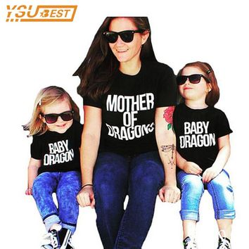 Mommy & Me Dragons Tee