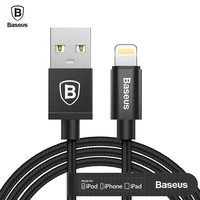 Baseus MFI USB Cable For iPhone 8 7 7s 6 6s Plus 5 5s se iPad Air Mini 2 3 Fast Charging Data sync Charger For Lightning Cable