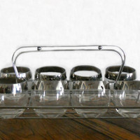 Vintage Roly Poly Glasses  Set of 8 Mad Men by houseofheirlooms