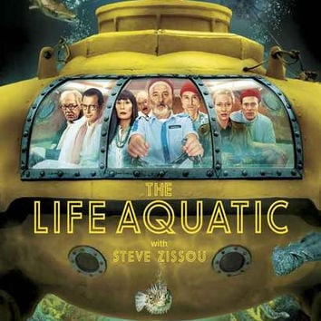 The Life Aquatic Movie Poster 11x17
