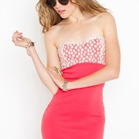 Blossom Sweetheart Dress in Sale at Nasty Gal