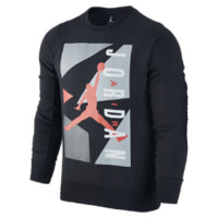 Air Jordan Block Fleece Crew Men's Sweatshirt, by Nike