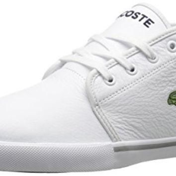 Lacoste Men's Ampthill Lcr3 Shoe, White, 10.5 M US