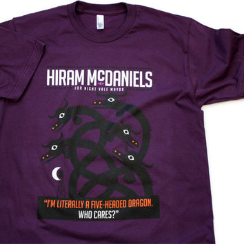 TopatoCo: Hiram McDaniels For Mayor Shirt