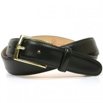 Smith Belt in Black Leather by Martin Dingman
