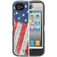 OtterBox Defender Series Case and Holster for iPhone 4/4S - Retail Packaging - Anthem Collection - Born Free