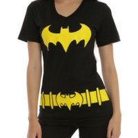 DC Comics Batman Belt Costume Girls T-Shirt