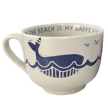 The Beach Is My Happy Place Jumbo Mug | 20-oz