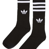 Solid Crew Socks Multipack by Adidas Originals | Topshop