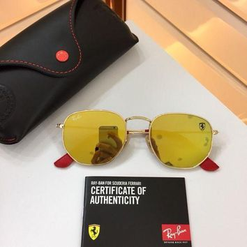 UCANUJ3V Ray Ban Ferrari Icon Sunglasses RB3548NM