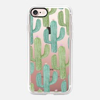 Desert Cactus  Print iPhone 7 Case by Ambers Textiles | Casetify