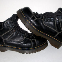 Dr. Martens 9349 aw 004  Black Leather Grunge Boots / Size 10 US / Size 8 UK