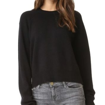 Cashwool Crop Sweater