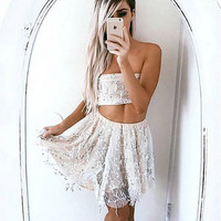 Sequined Two Piece Dress