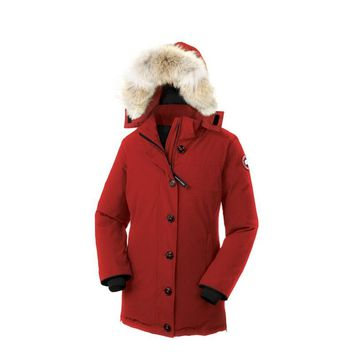 Canada Goose Dawson Parka Women Outwear Down Jackets - Best Deal Online