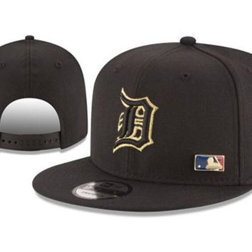 New Arrival New Era Black Cap MLB Baseball Fitted Hat-17