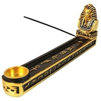 Egyptian Pharaoh King Tut Incense Burner/Holder