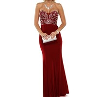 Hattie- Red Homecoming Dress