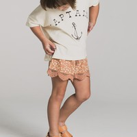 Pebble Scallop Shorts