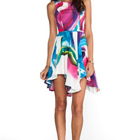 Talulah In The Clouds Dress in Water Color Print