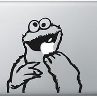 cookie monster macbook decal macbook stickers covers ipad decal stickers covers macbook / ipad / iphone