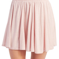 Freshman™ Slub Knit Skater Skirt | Wet Seal