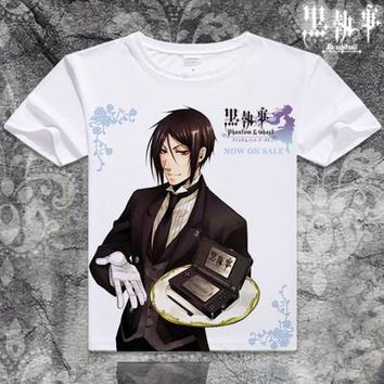Black Butler Short Sleeve Anime T-Shirt V17