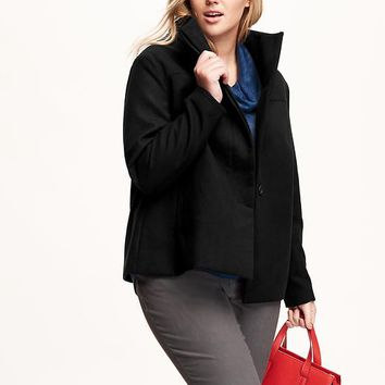 Old Navy Funnel Neck Plus Size Jacket