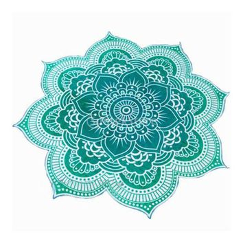 ESBU3C Lutos Tapestry Wall Hanging Bedspread Beach Pool Shower Towel Yoga Mat Ethnic Throw Art  4 Colors Choice