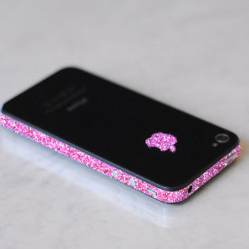 iPhone 4S Antenna Wrap (Sparkling Rose)