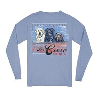 The Whole Crew Long Sleeve Tee by Southern Fried Cotton