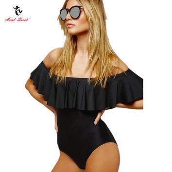 2017 Halter One Piece Swimsuit Bathing Suit Swimsuit One Piece