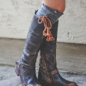 Tassel Boot Sock