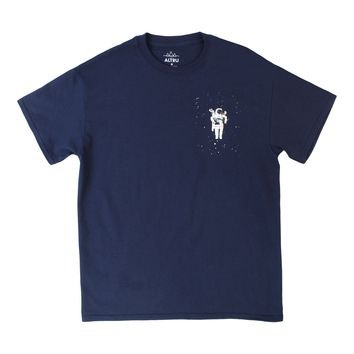 Floating Solo Space Astronaut navy tee by Altru Apparel (S,XL & 2XL Only)
