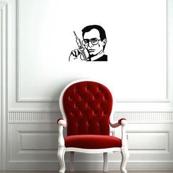 Wall Mural Vinyl Sticker Decal   SPY SUNGLASSES SYRINGE  DA983
