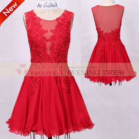 AO62646A red lace evening dress short homecoming dress | prom dress 2015, View Homecoming Dress, Choiyes Short Dress Product Details from Chaozhou Choiyes Evening Dress Co., Ltd. on Alibaba.com