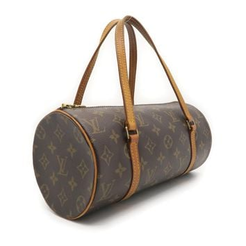 Louis Vuitton Monogram Canvas Papillon PM Handbag Brown M51386 1889